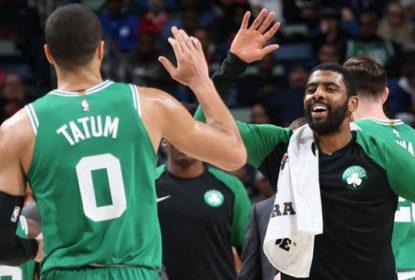 Danny Ainge acredita no 'casamento' de Kyrie Irving com os Celtics - The Playoffs