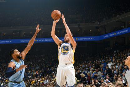 Com terceiro quarto arrasador, Golden State Warriors supera o Memphis Grizzlies - The Playoffs