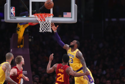 LeBron decide no fim, Los Angeles Lakers se recupera e derrota o Indiana Pacers - The Playoffs