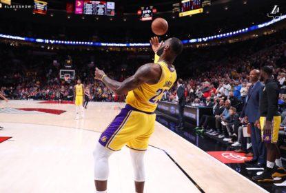 LeBron James exalta comissão técnica após vitória do Los Angeles Lakers