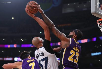 Lakers vencem os Wolves em grande partida de LeBron James