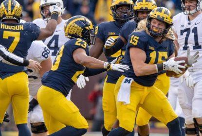 Defesa tem mais uma atuação de gala e Michigan não dá chances a Penn State - The Playoffs