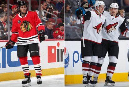 Blackhawks trocam Nick Schmaltz com Coyotes - The Playoffs