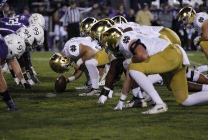 Notre Dame bate Northwestern e se mantém invicta no college football - The Playoffs