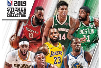 Panini lança álbum de figurinhas da temporada 2018/2019 da NBA - The Playoffs