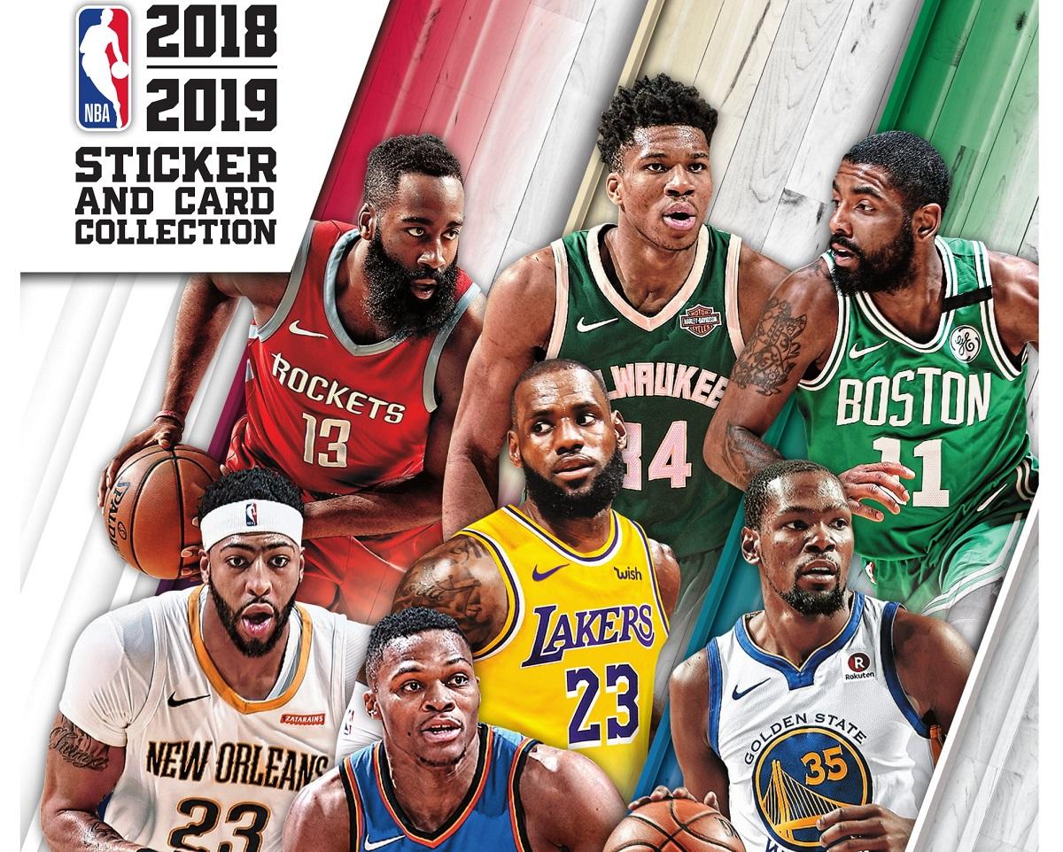 2f28ac867 Panini lança álbum de figurinhas da temporada 2018 2019 da NBA