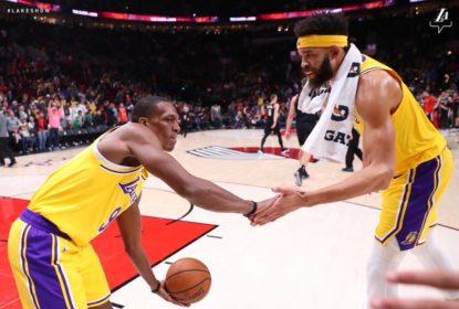 Em jogo de altos e baixos, Lakers vencem Blazers e quebram tabu - The Playoffs