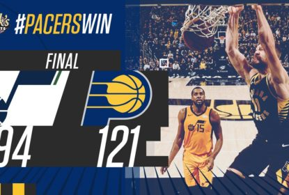 Mesmo desfalcado, Indiana Pacers vence Utah Jazz - The Playoffs