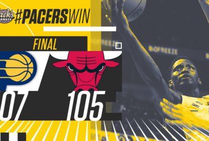 Em jogo decidido somente no final, Indiana Pacers bate o Chicago Bulls - The Playoffs