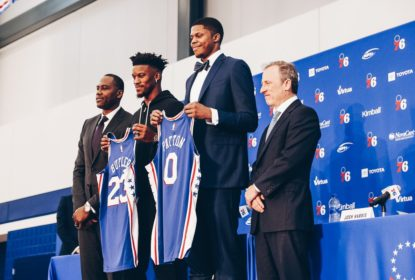 Jimmy Butler é apresentado pelo Philadelphia 76ers - The Playoffs