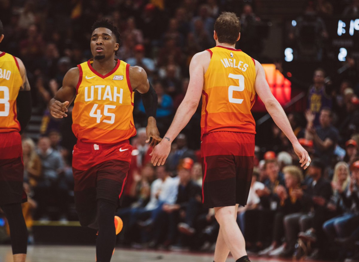 Donovan Mitchell e Joe Ingles