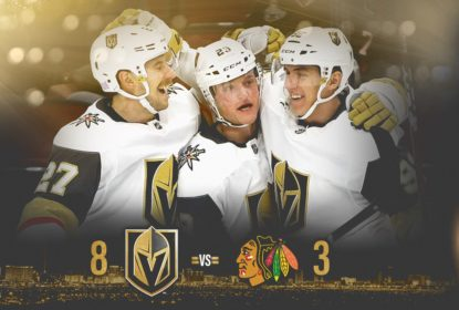 Golden Knights atropelam Blackhawks em Chicago - The Playoffs