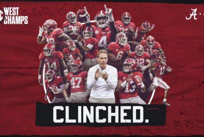 Alabama atropela LSU e conquista Divisão Oeste da conferência SEC - The Playoffs
