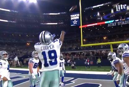 Amari Cooper imita estilo de arremesso de Markelle Fultz em comemoração pelos Cowboys - The Playoffs