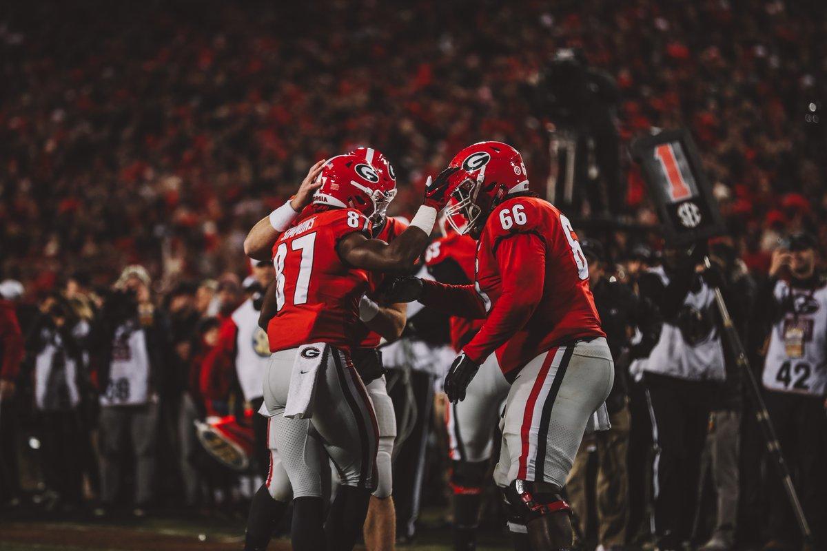 Georgia vence Auburn em reedição da final da SEC
