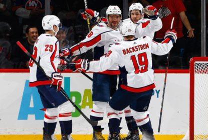 No reencontro com Barry Trotz, Capitals derrotam Islanders