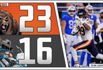 Chicago Bears abre rodada do Thanksgiving Day na NFL com vitória sobre o Detroit Lions
