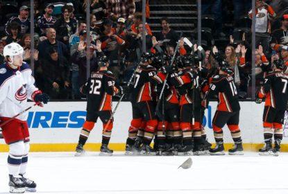 Ducks vencem Blue Jackets na prorrogação e acabam com série negativa - The Playoffs