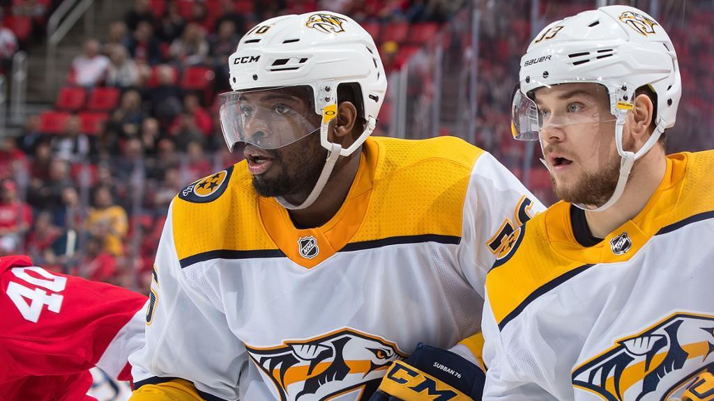 Nashville Predators coloca Subban e Arvidsson na injured reserve - The Playoffs