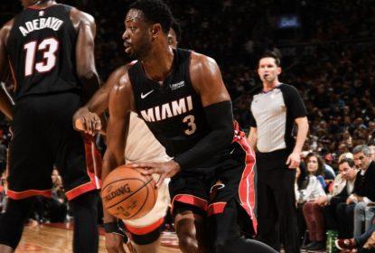 Wade bate recorde do Heat de maior número de pontos vindo do banco