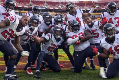 Em jogo marcado por grave lesão de Alex Smith, Texans vencem Redskins - The Playoffs
