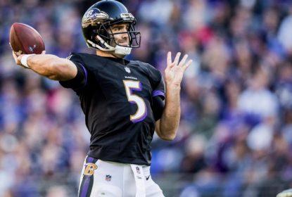 Baltimore Ravens lista Joe Flacco como dúvida para jogo contra o Cincinnati Bengals - The Playoffs