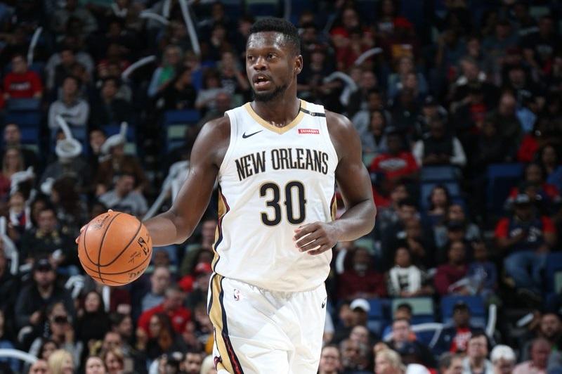 Randle lidera vitória dos Pelicans sobre os Spurs
