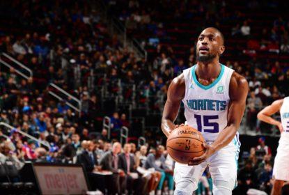 Kemba Walker lidera vitória dos Hornets sobre os Pistons