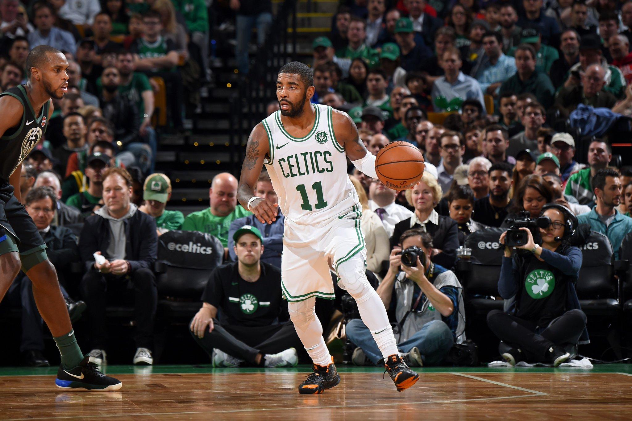 Irving lidera Celtics em vitória sobre os Bucks