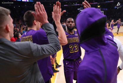 Noite histórica de LeBron leva Lakers a vitória sobre os Blazers - The Playoffs