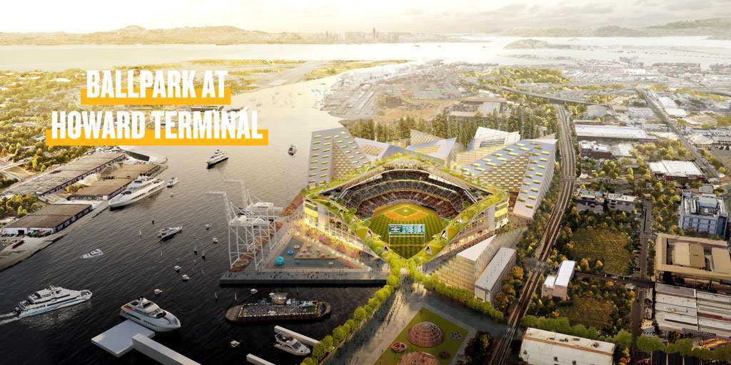 A's divulgam planos para novo estádio que será inaugurado em 2023