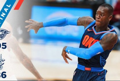 Sem Russell Westbrook, Oklahoma City Thunder vence Cleveland Cavaliers fora de casa - The Playoffs