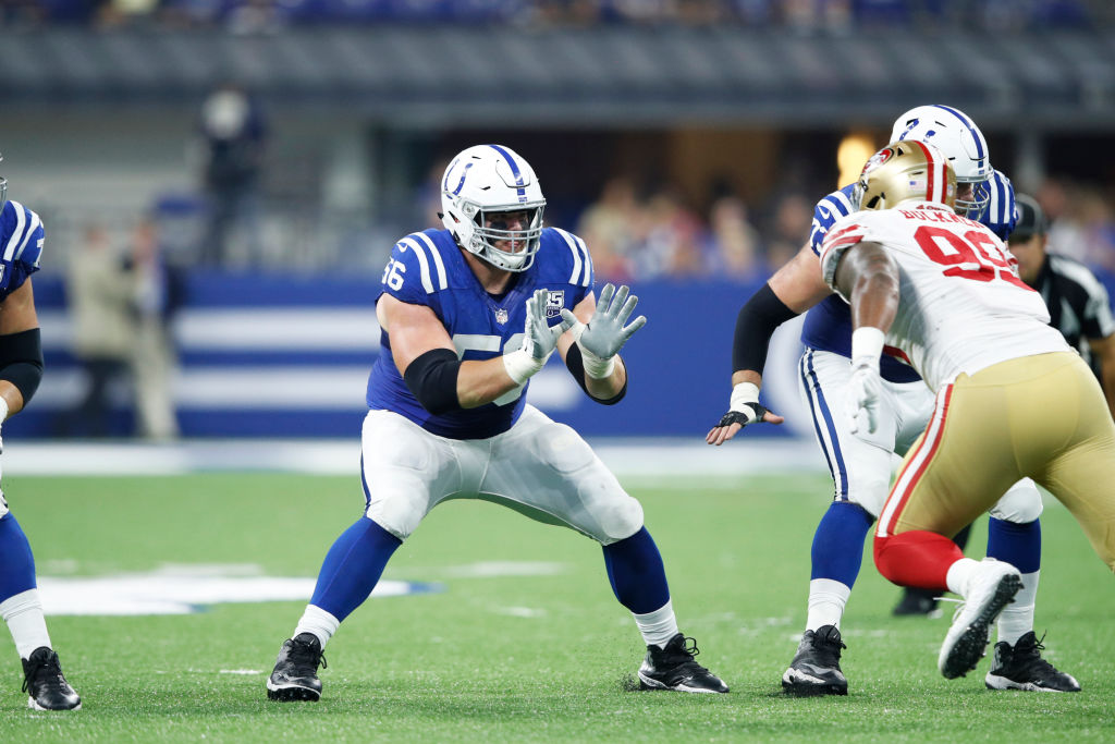 Quenton Nelson - San Francisco 49ers v Indianapolis Colts