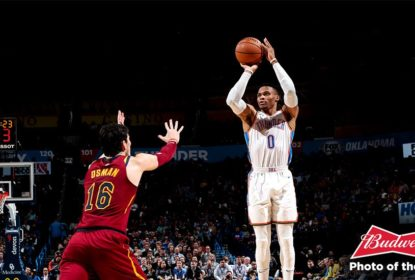 Com triplo-duplo de Westbrook, Oklahoma City Thunder vence Cleveland Cavaliers - The Playoffs