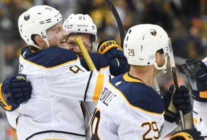 Com grande virada, Sabres derrotam Penguins na prorrogação - The Playoffs