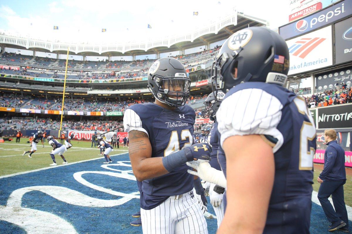 Notre Dame domina Syracuse no Yankee Stadium e vence décima primeira seguida