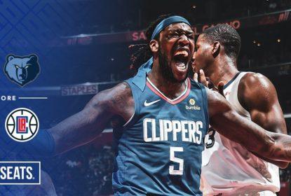 Em grande partida, Clippers vencem Grizzlies no tempo extra - The Playoffs
