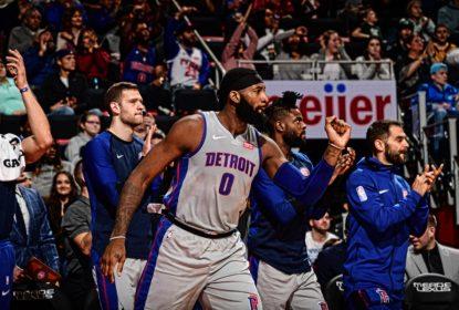 Em jogo marcado pela volta de Curry, Pistons vencem Warriors