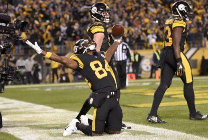 Antonio Brown aceita encontro com proprietário do Pittsburgh Steelers - The Playoffs