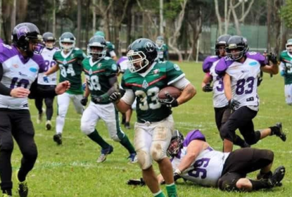 Chacal será running back do ABC Corsários em 2019 - The Playoffs