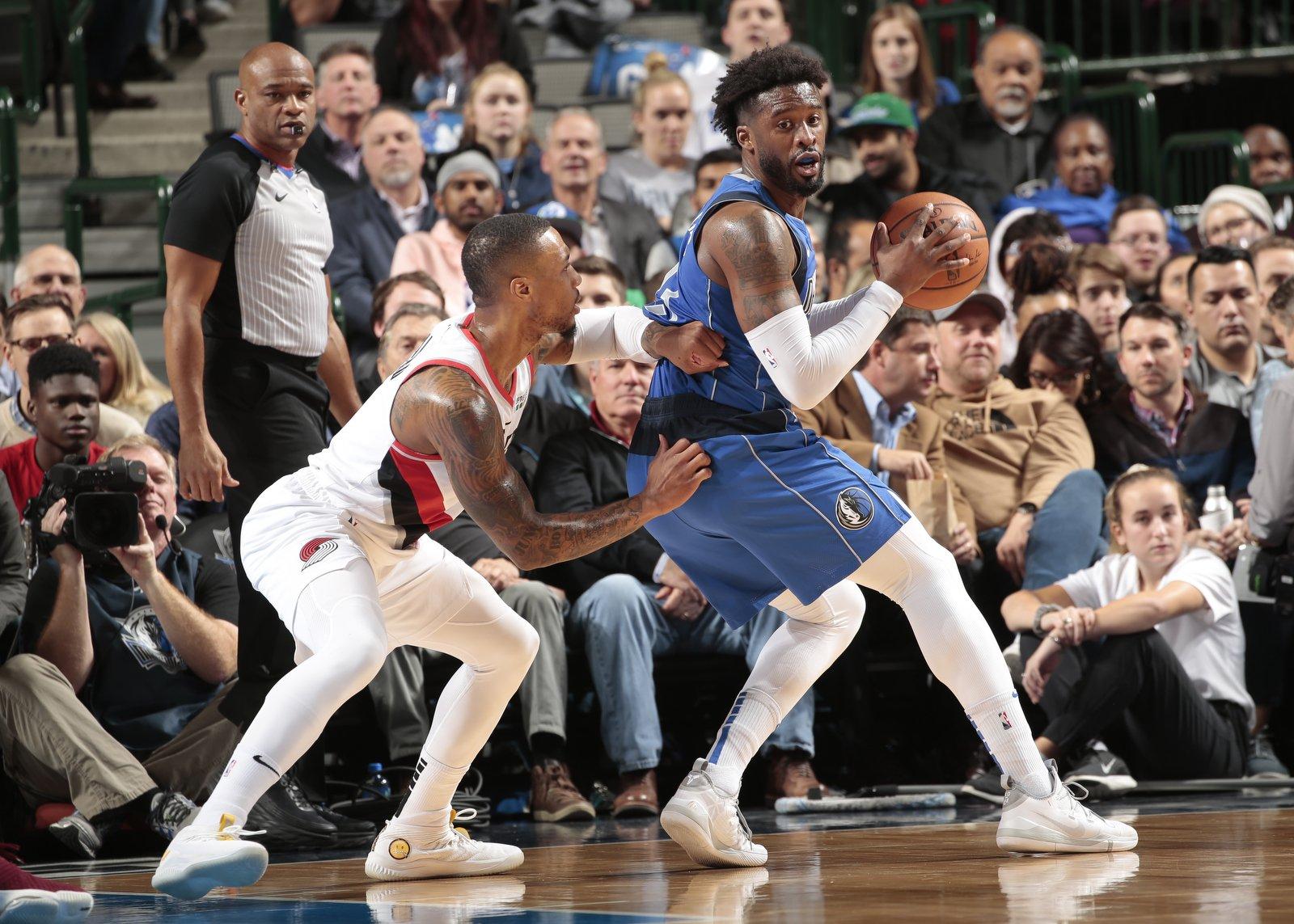 Dallas Mavericks vence o Portland Trail Blazers com grande atuação coletiva