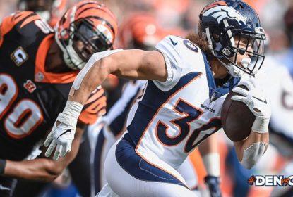 Phillip Lindsay pode desfalcar os Broncos em alguns jogos - The Playoffs