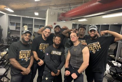 Saints vencem os Bucs e conquistam a NFC South - The Playoffs