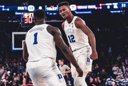 Em noite de Williamson e Jones, Duke vence com dificuldade - The Playoffs
