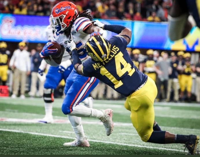 Feleipe Franks brilha, defesa não dá chances e Florida Gators derruba Michigan no Peach Bowl - The Playoffs