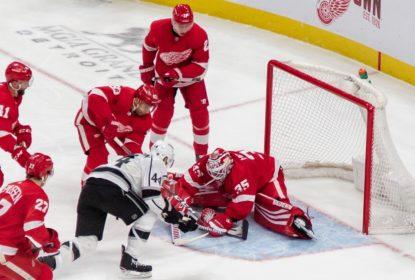 Red Wings sofrem mas vencem Kings em noite de Jimmy Howard - The Playoffs
