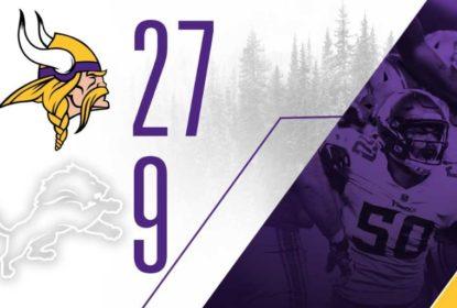 Defesa brilha, Minnesota Vikings vence e mantém sonho de chegar à pós-temporada - The Playoffs