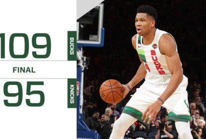 Bucks vencem os Knicks na abertura da rodada de Natal - The Playoffs