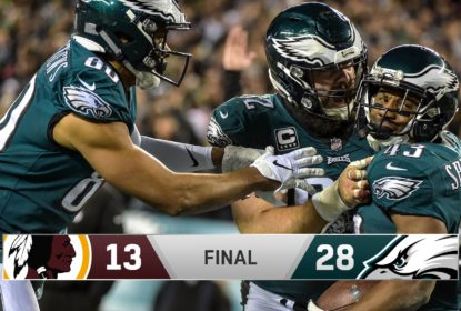 Philadelphia Eagles vence Washington Redskins e embola a divisão - The Playoffs