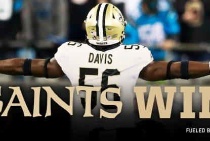 New Orleans Saints passa apertado pelo Carolina Panthers no MNF - The Playoffs